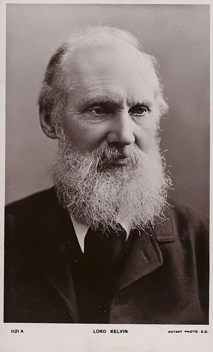 William Thomson, 1st Baron Kelvin (1824-1907), British physicist and engineer  by English Photographer