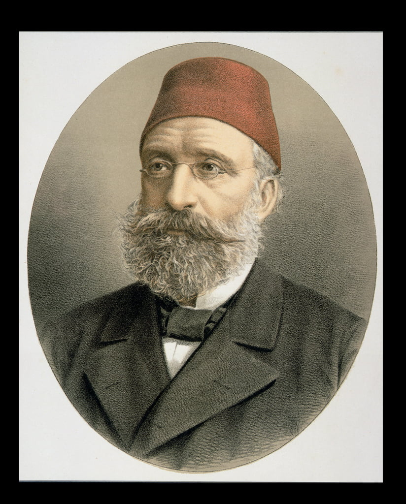 Grand Vizier Midhat Pasha (1822-83)  by English School