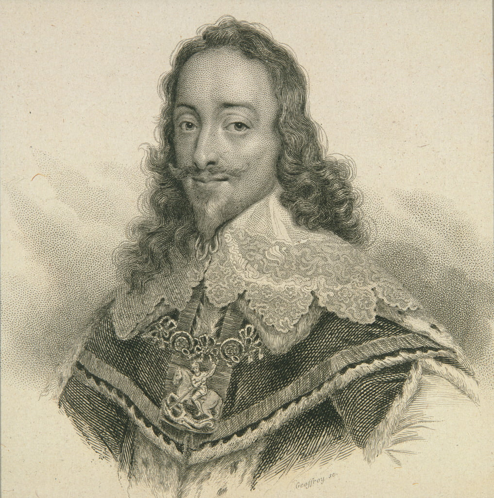 King Charles I of England (1600-49)  by English School
