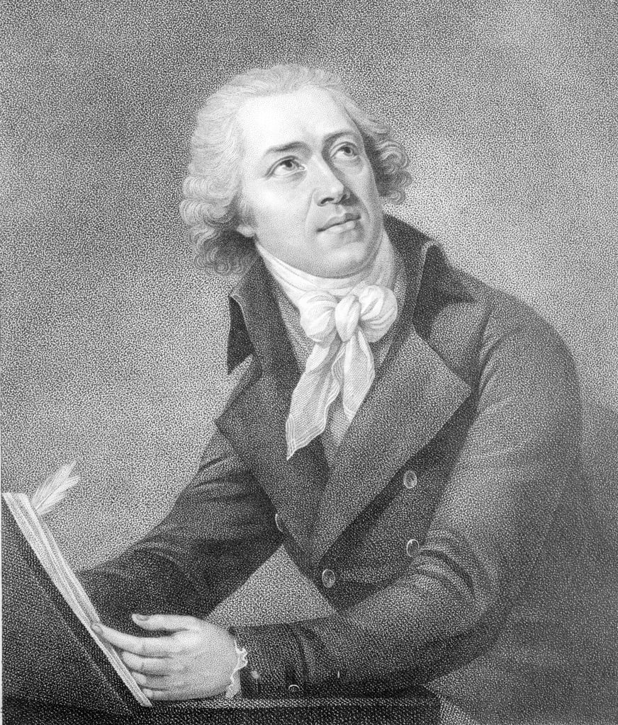 Leopold Kozeluch, engraved by William Ridley, 1797  by English School