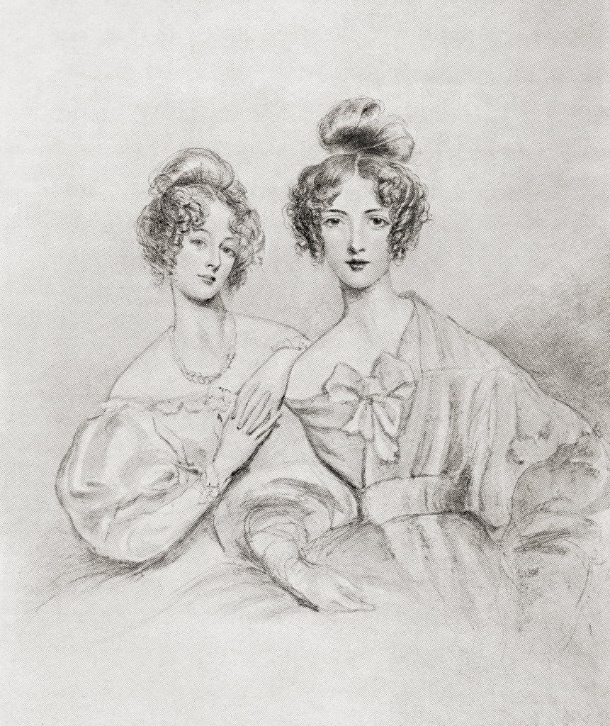 The Misses Catherine and Mary Glynne, from