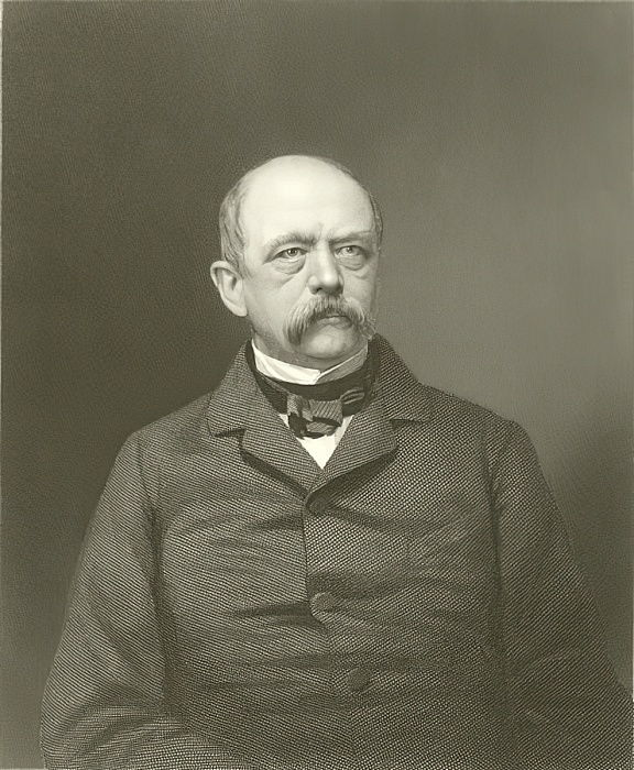 Prince Von Bismarck  by English School