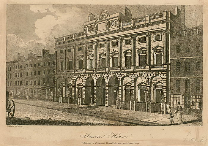Somerset House, The Strand, London  by English School