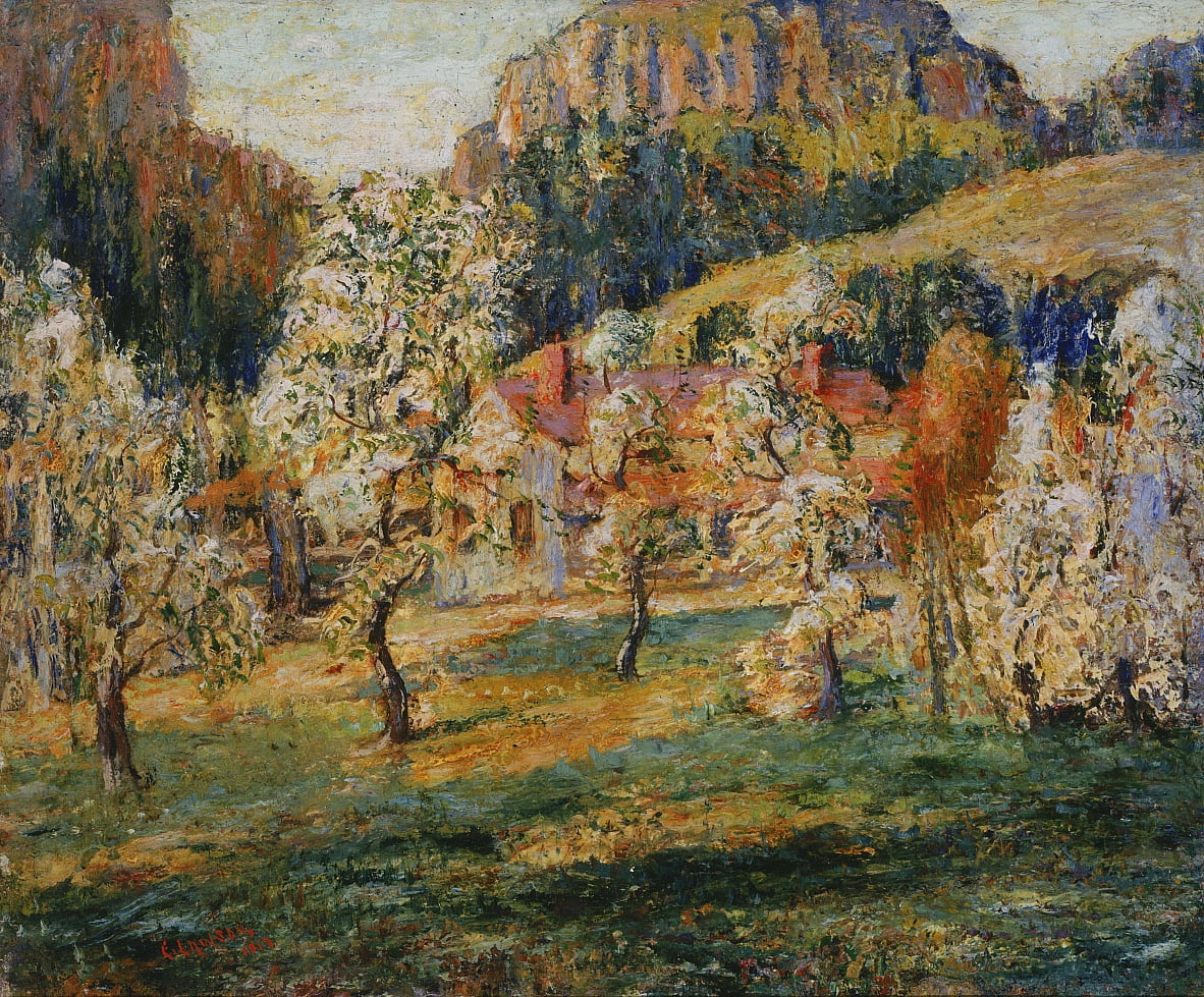 May in the Mountains by Ernest Lawson