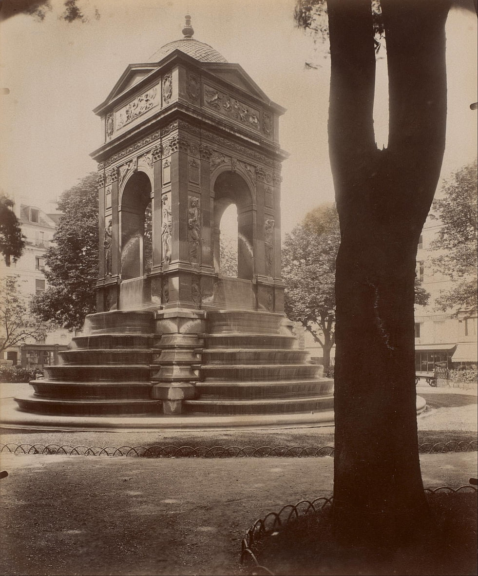 Fontaine des Innocents by Eugène Atget