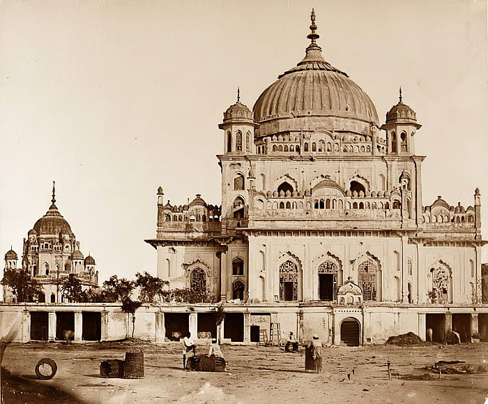 Small Mosque in the Kaiserbagh, Lucknow  by Felice Beato