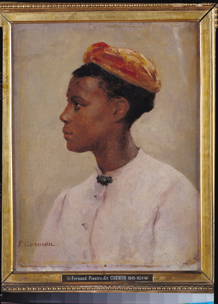 Young Negress  by Fernand Cormon