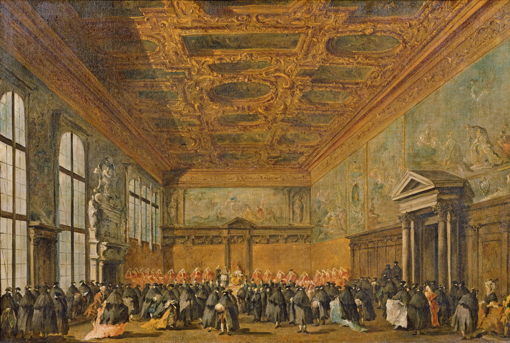 Audience Granted by the Doge of Venice in the College Room of Doge