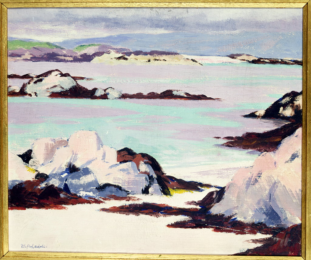 Isle of Iona  by Francis Campbell Boileau Cadell