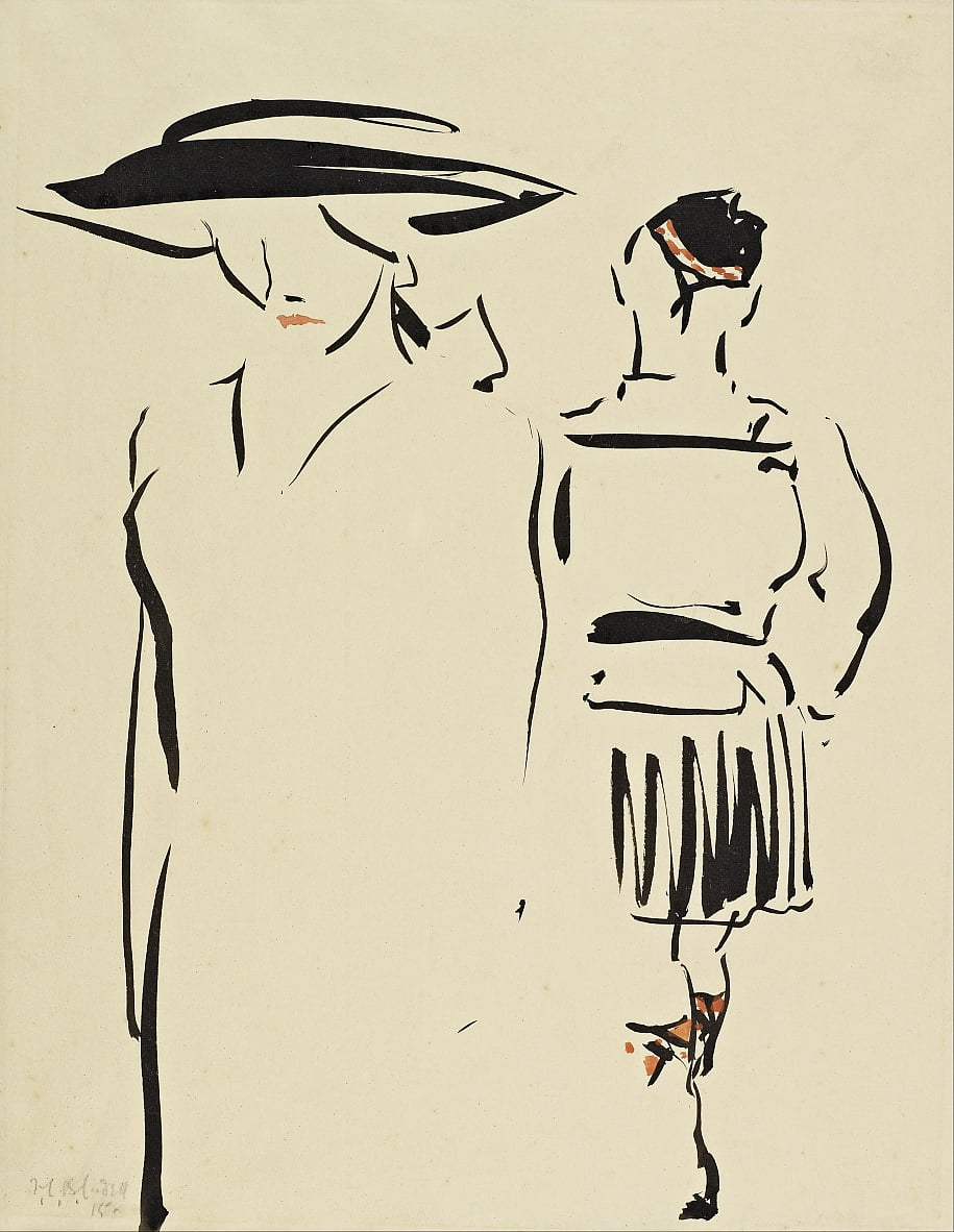 The Parting by Francis Campbell Boileau Cadell