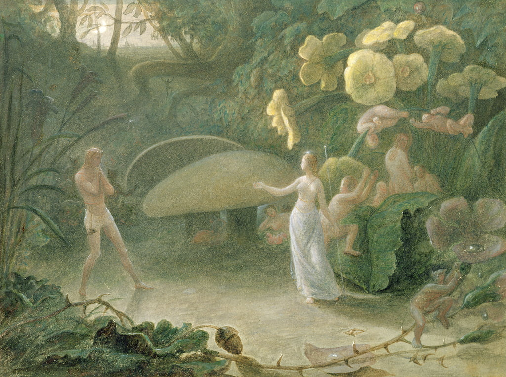 Oberon and Titania, A Midsummer Night