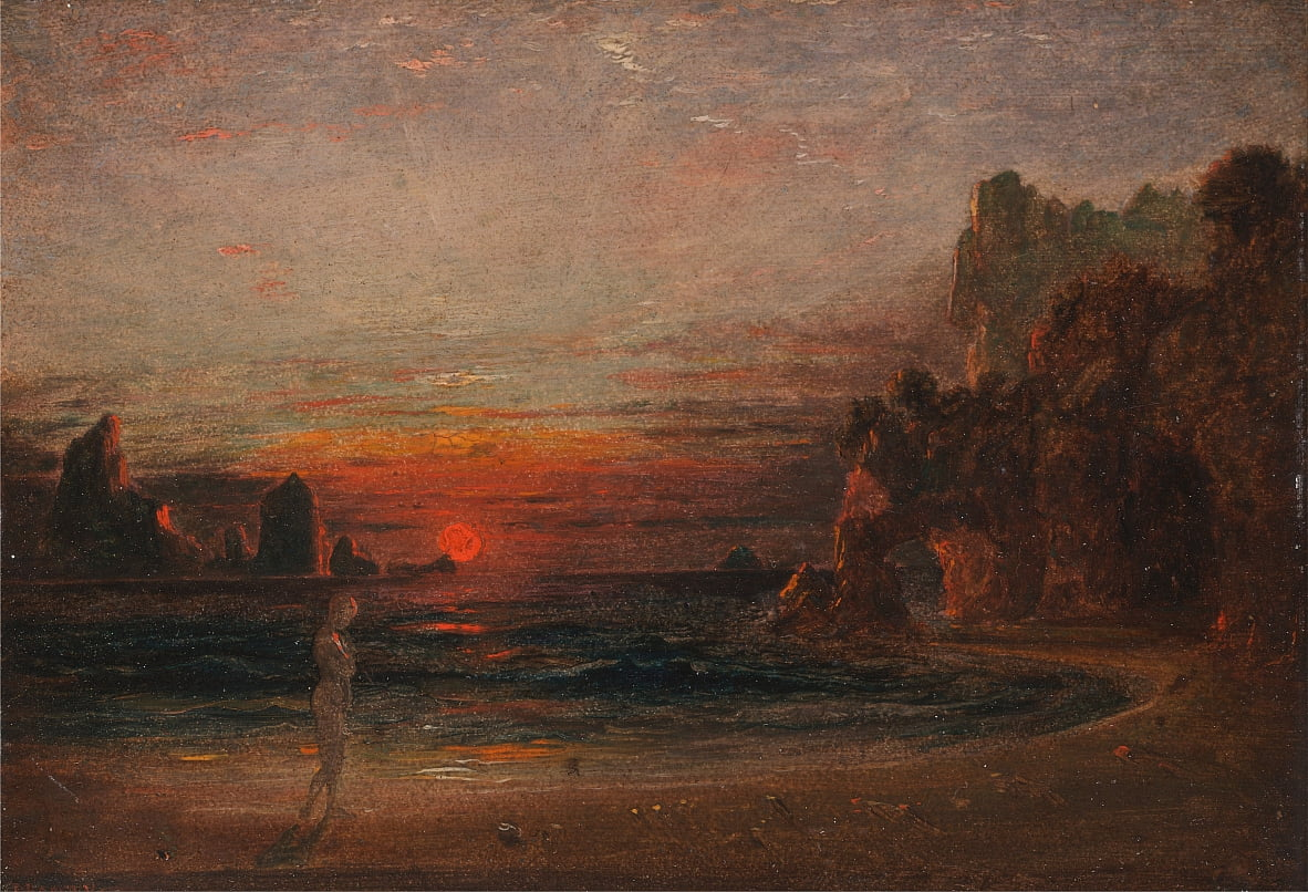 Study for Calypsos Grotto by Francis Danby