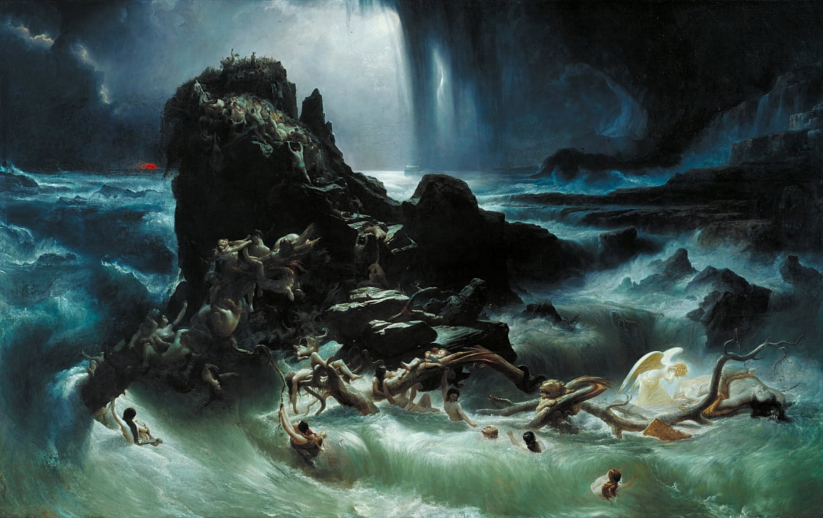 The Deluge by Francis Danby