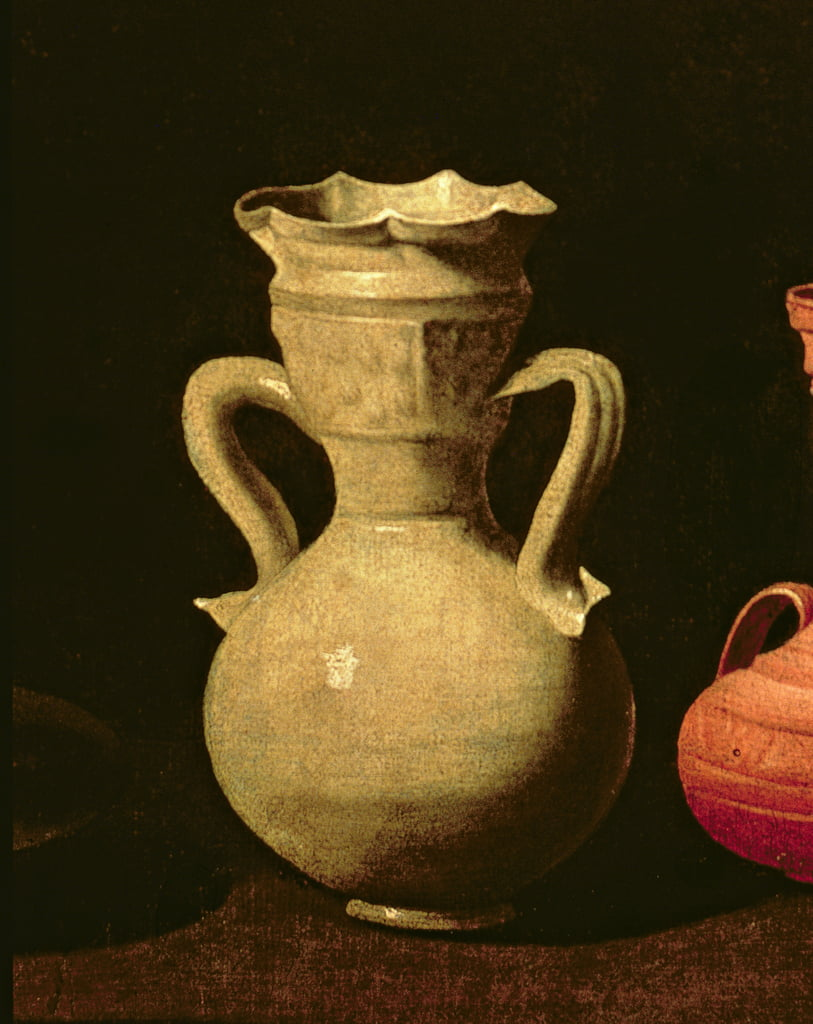 Still Life  (detail of 38737) by Francisco de Zurbaran