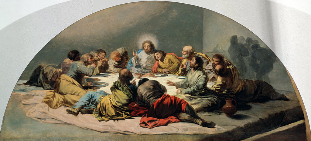 The Last Supper, 1796-97 by Francisco de Goya