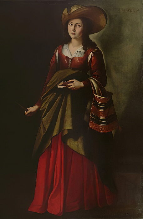 St. Marina  by Francisco de Zurbaran