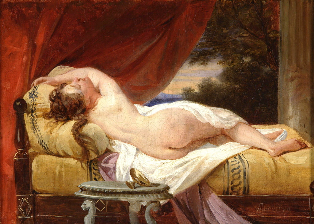 Odalisque, 1829  by Francois Edouard Picot
