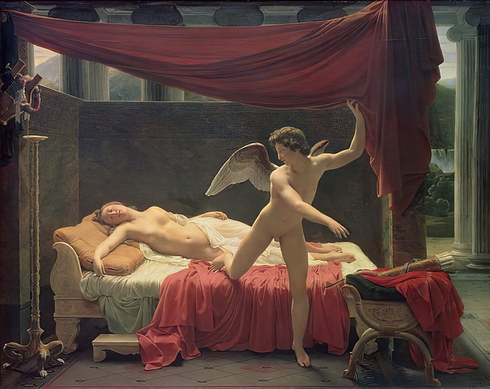 Cupid and Psyche, 1817 by Francois Edouard Picot