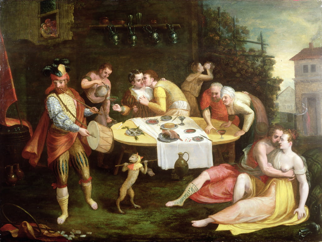 A Banquet of Love by Frans Floris