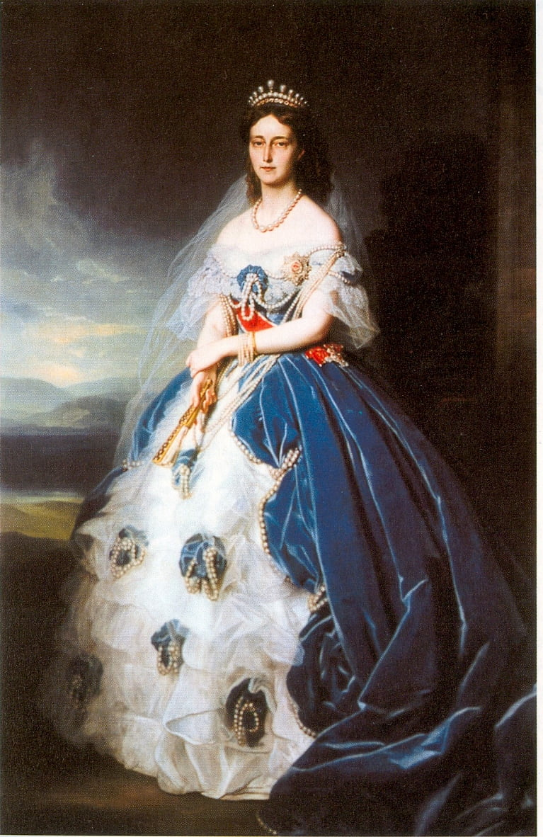 Grand Duchess Olga  by Franz Xaver Winterhalter
