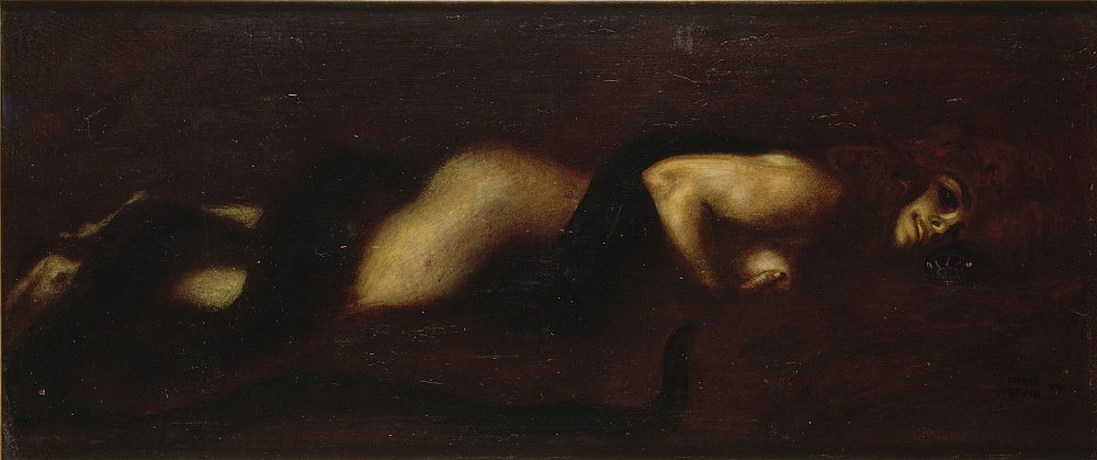 The Sin, 1899 by Franz von Stuck