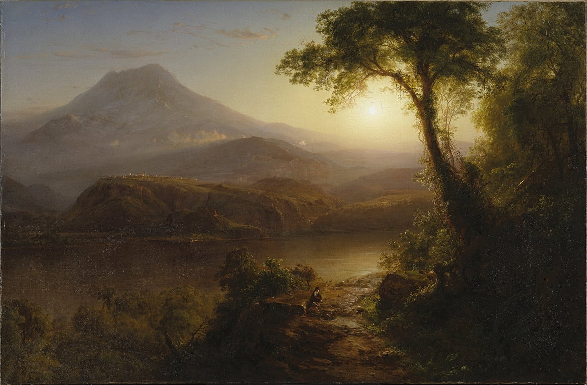 Tropical Scenery by Frederic Edwin Church