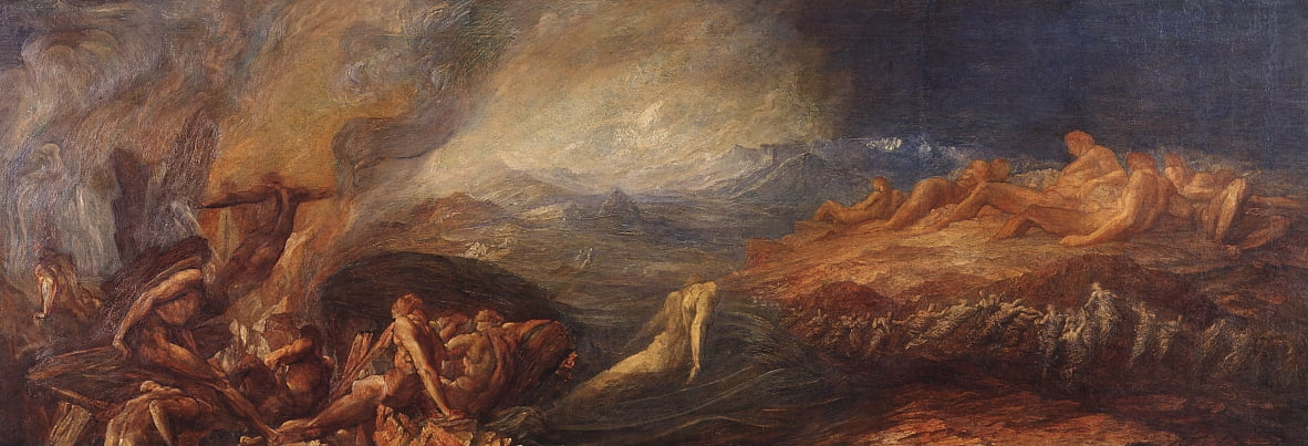 Chaos by George Frederick Watts