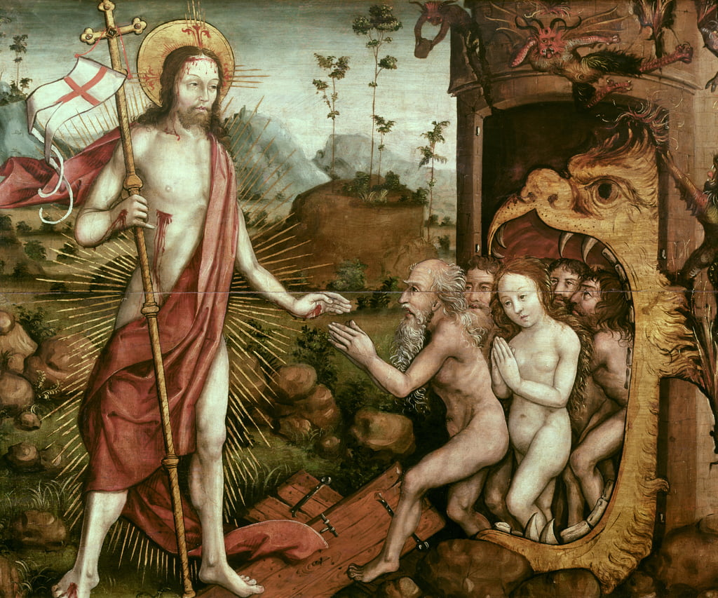 Descent of Christ into Limbo, c.1482  by French School
