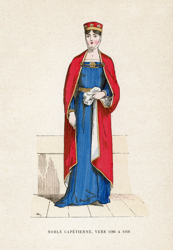 Noble, 1180-1190 by French School