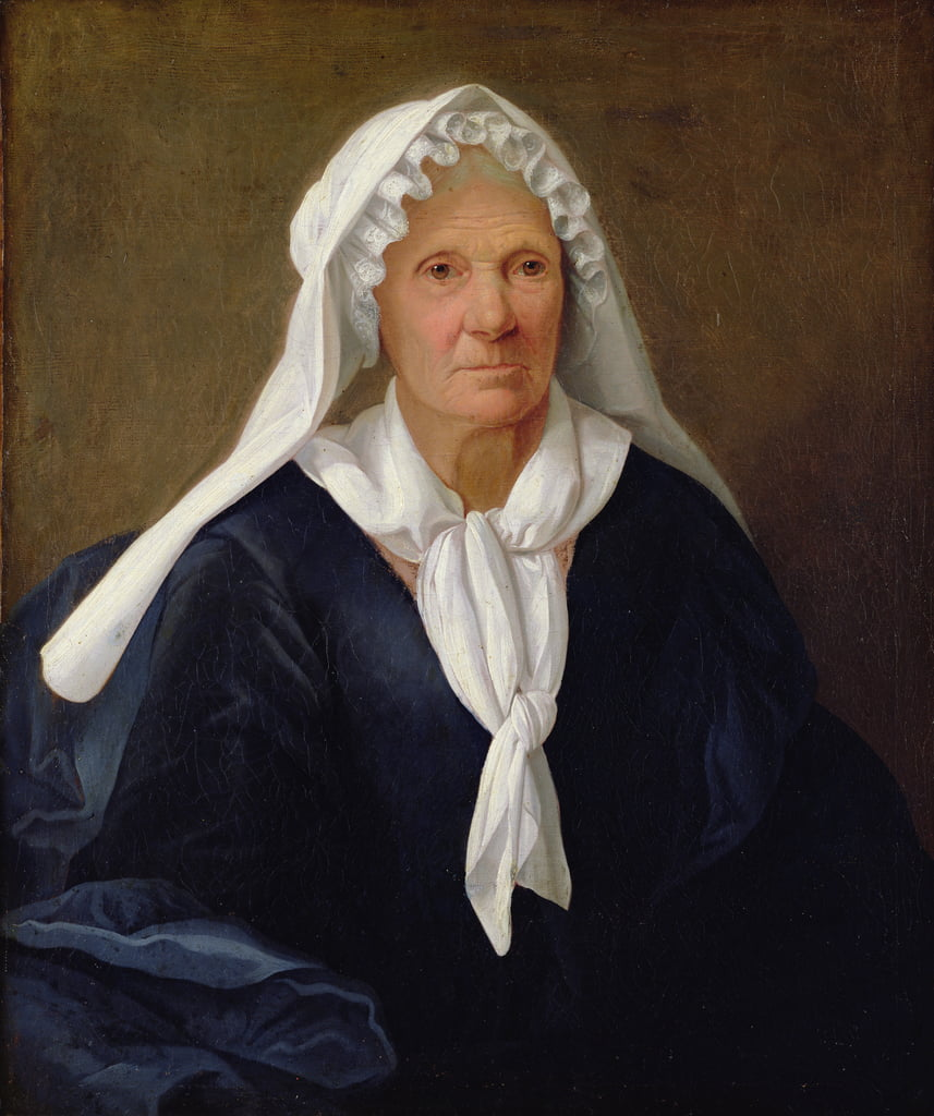 Portrait of an Old Woman, c.1781  by French School
