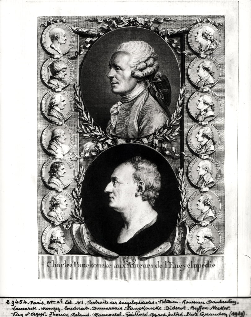 Portraits of the Encyclopaedists Jean Le Rond d