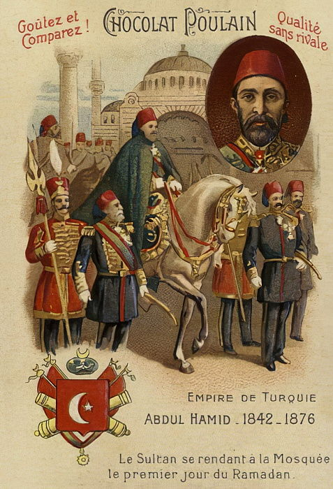 Abdul Hamid II, Sultan of the Ottoman Empire  by French School