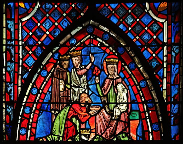 Window w7 the Adoration of the Magi  by French School