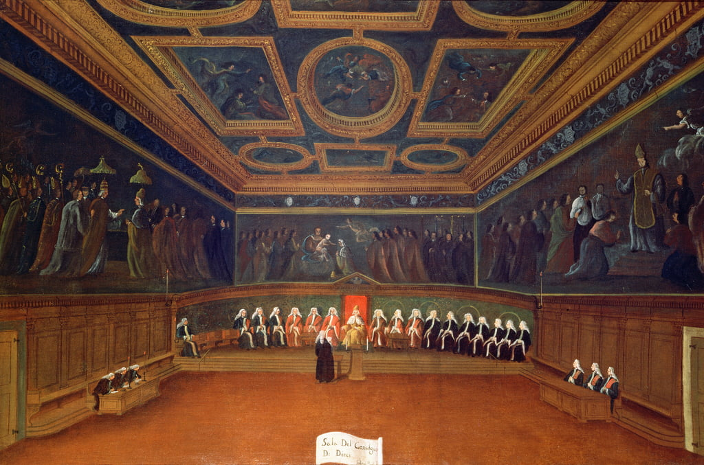 The Room of the Council of Ten, Doges