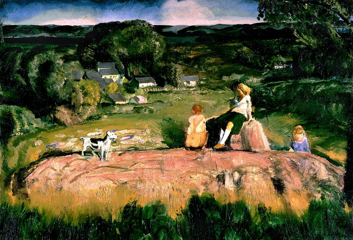 Three Children by George Wesley Bellows