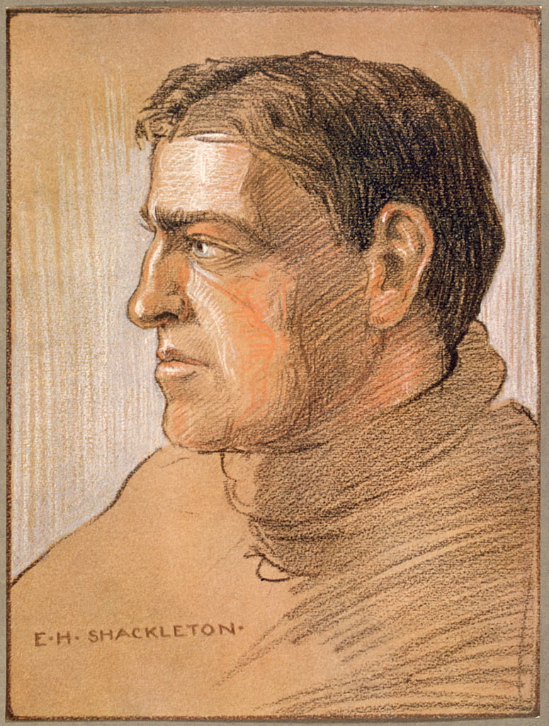 Portrait of Shackleton, from