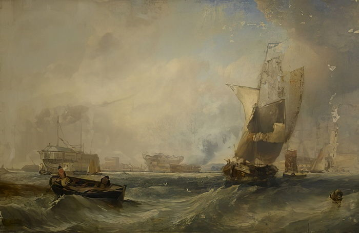 A Sea Piece, 1831  by George the Elder Chambers