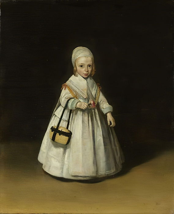 Portrait of Helena van der Schalcke, c.1648  by Gerard ter Borch or Terborch