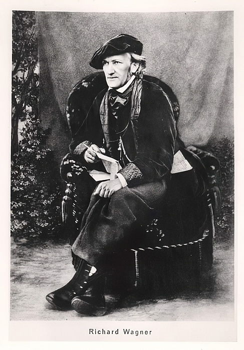 Richard Wagner (1813-1883)  by German Photographer