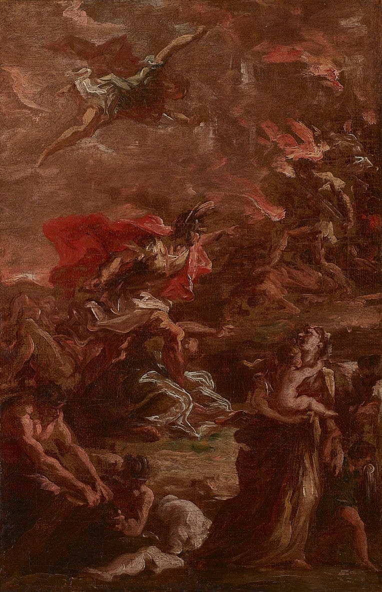 Allegory of War by Giovanni Antonio Pellegrini
