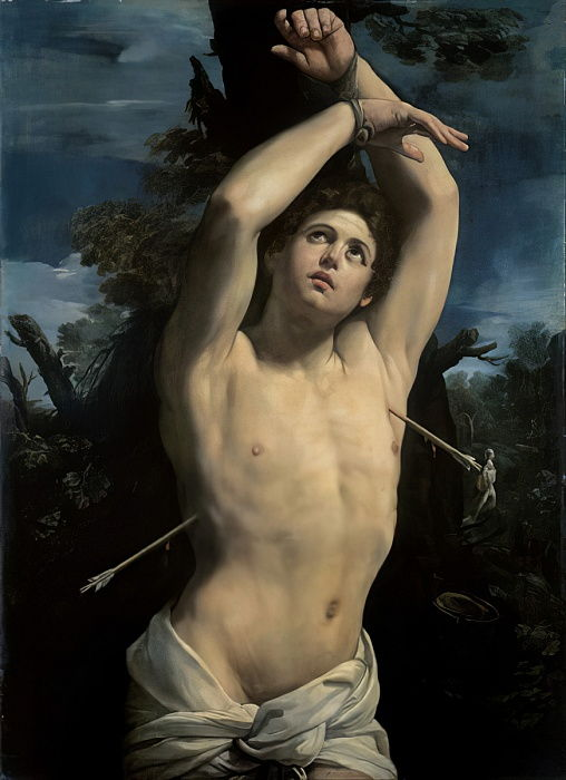 Saint Sebastian, c.1615  by Guido Reni