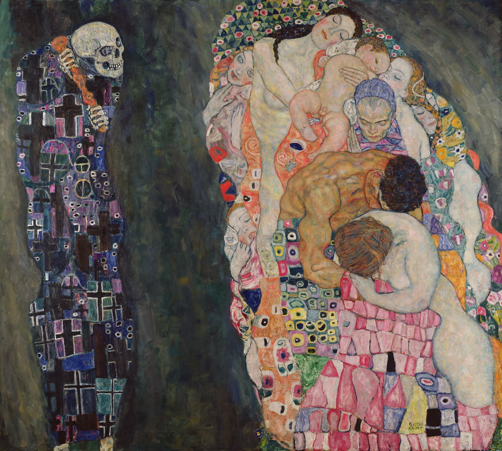 Death and Life, c.1911  by Gustav Klimt