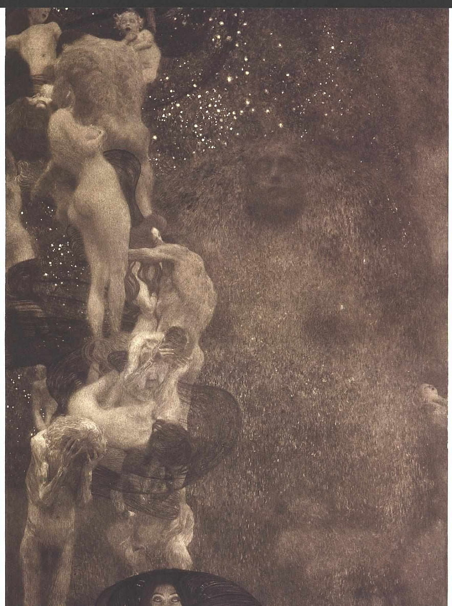 Philosophie by Gustav Klimt