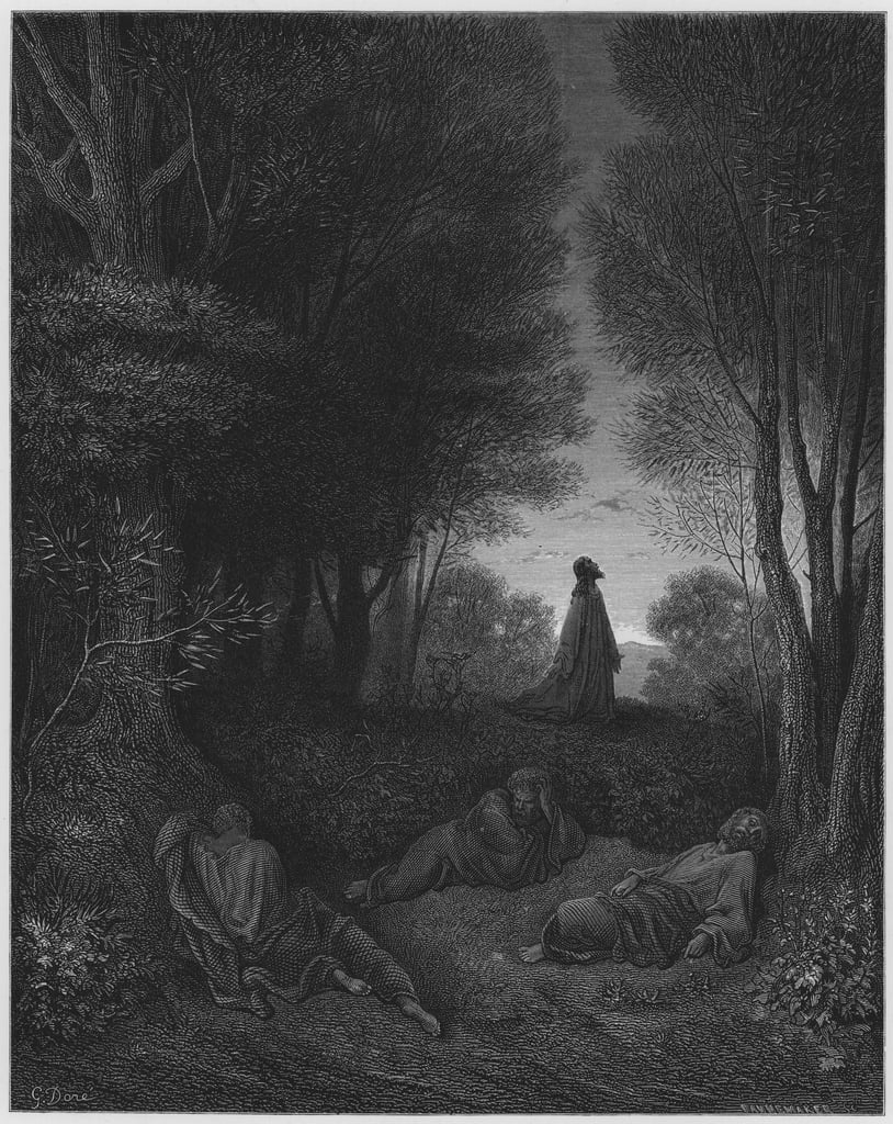 Gustave Dore Bible Jesus Praying In The Garden 650989