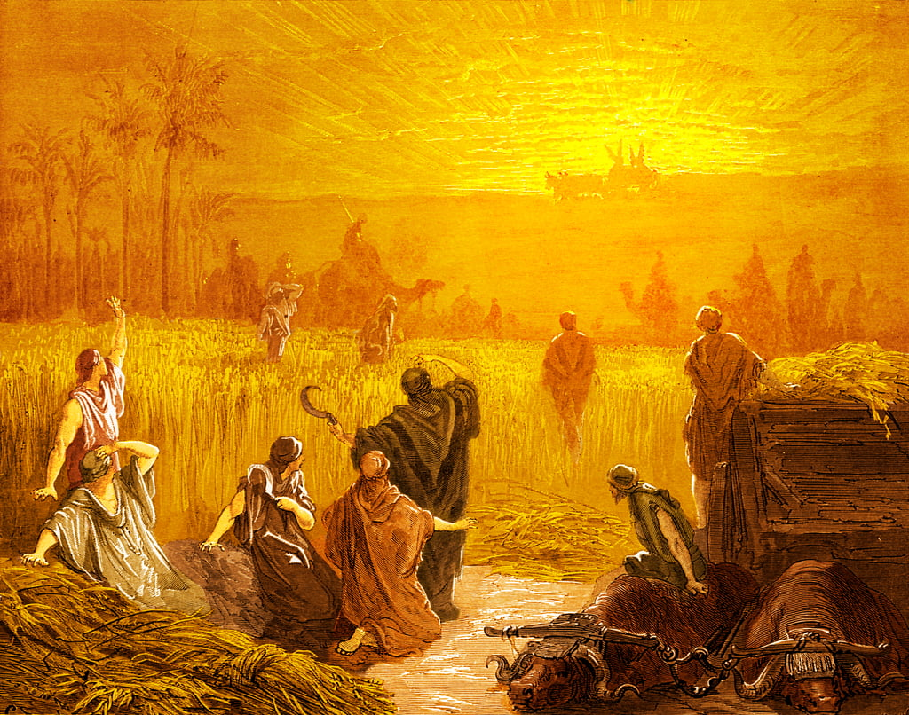 Return of the Ark to Beth Shemesh, by Doré - Bible by Gustave Dore