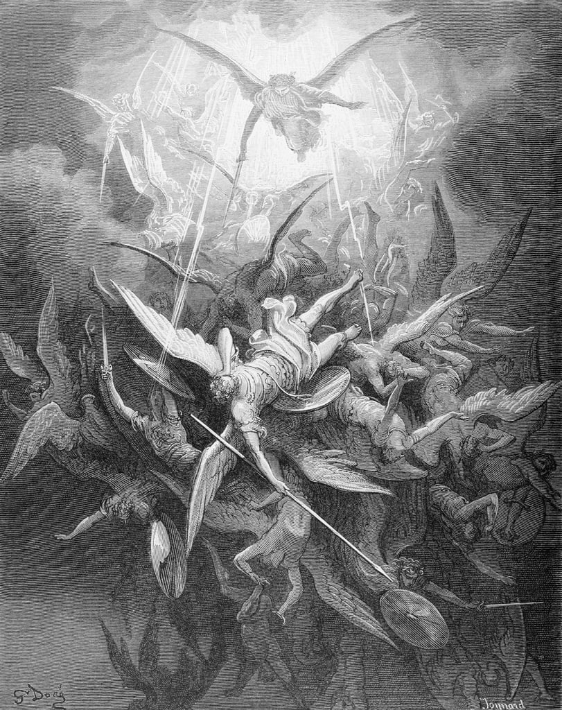 The Fall of the Rebel Angels, from Book I of