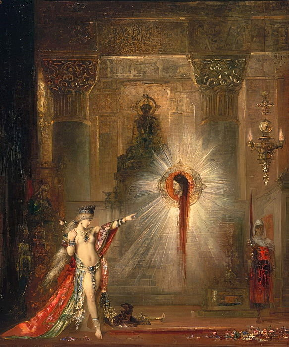 The Apparition, c.1876  by Gustave Moreau