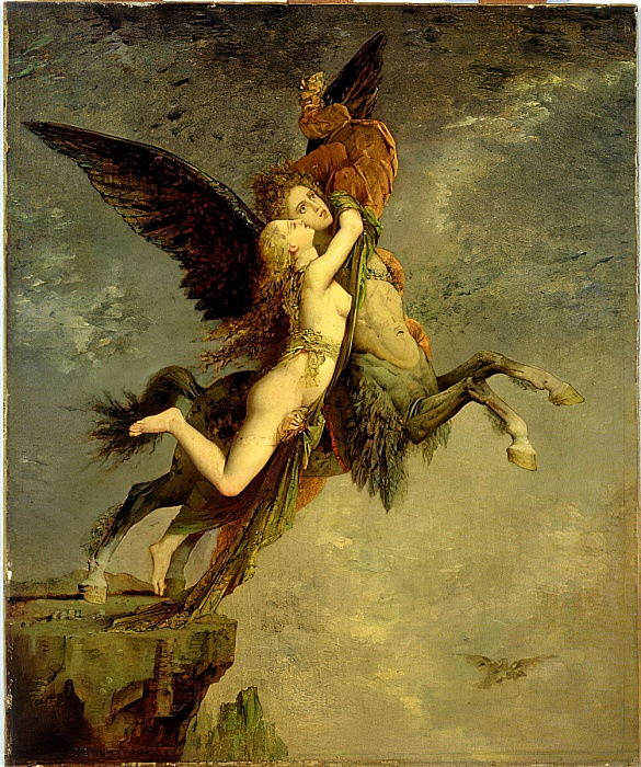 The Chimera, 1867  by Gustave Moreau