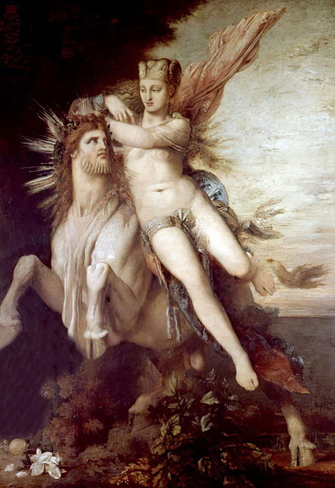 The Rape of Europa, c.1869  by Gustave Moreau