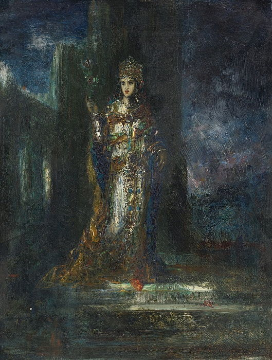 The Song of Songs by Gustave Moreau